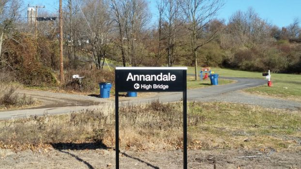 Annandale Station Sign by Confused-Man