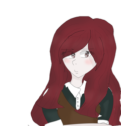 Himiko with long hair by sweetsweetmina