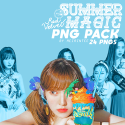 [PNG PACK] RED VELVET 'SUMMER MAGIC' PART 1 by meirintee
