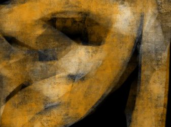 Abstract Black and Yellow by coiplet
