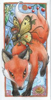 Fox Fairy by DaisyDeddle