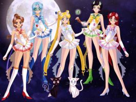 PGSM AF Inner regal Sailor Soldiers by BlazingTyphlosion