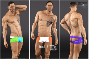 JockiShorts for Genesis 8 Male - OUT NOW by Kaos3d