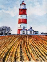 Happisburgh Lighthouse by Spangledstars