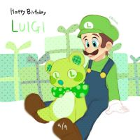 Happy birthday, Luigi by asumachimu