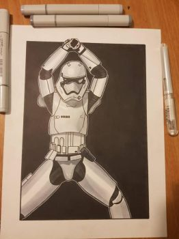 Magic Mike stormtrooper by yorkshirepudding1990