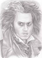 Sweeney Todd by landofsunshine