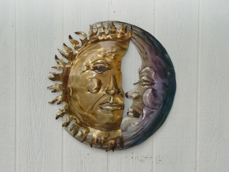 Sun and Moon by GreatLakesMetalWorks