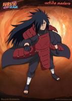 Uchiha Madara by Davidyf