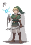 Link from The Legend of Zelda by HiroSenpaiArt