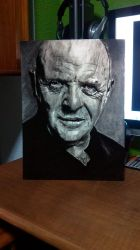 Anthony Hopkins by ArutArt