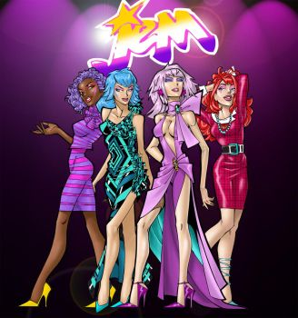 Jem and  the Holograms by MrOrozco