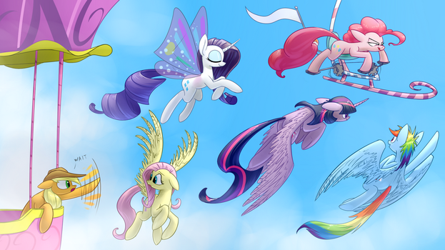 Flying Buddies by Underpable