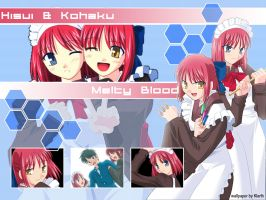 Melty Blood: The Maids by Klarthkun