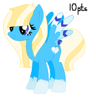 Crystal Heart - Adoptable - 10 Pts - { Open!} by emaopup156443