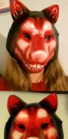 Smile Dog Mask by AnScathMarcach
