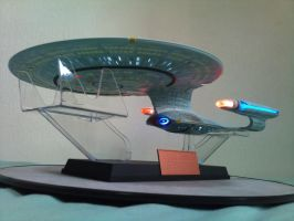 AOSHIMA STAR TREK USS ENTERPRISE NCC-1701-D by imranbecks