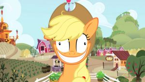 Crazy Apple Jack by lazcreations