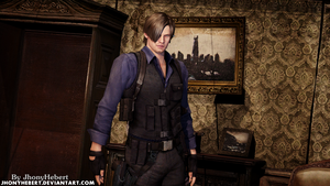 Leon S. Kennedy by JhonyHebert