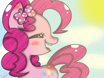 Pinkie Pie Smile by MissSmile84