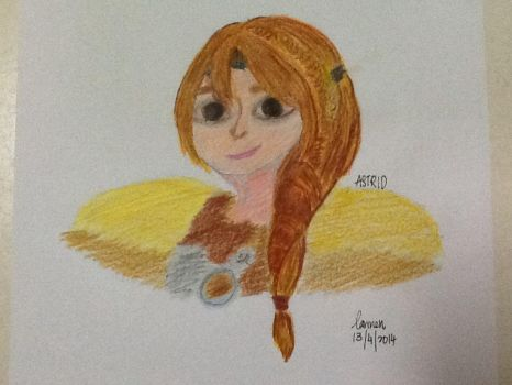 Astrid (HTTYD 2) by Elements27