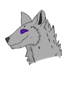 Galaxy Wolf by EyelessJack20211