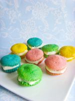 Mini Macarons Cupcakes by dabbisch