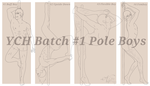 YCH Batch #1 Pole Boys. (CLOSED) by DanteKizu