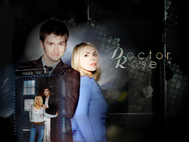 Doctor and Rose - Wallpaper 2 by S-GB