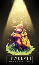 Twelve Orchestra Pamphlet Cover by Feza-Creations