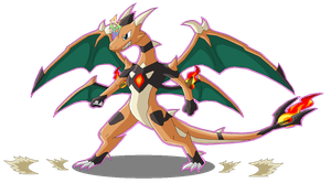 Mega Charizard (Fan-Made) by SuperSonicGX