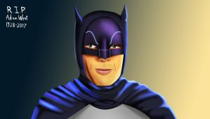 .: Adam West Batman :. by Sincity2100