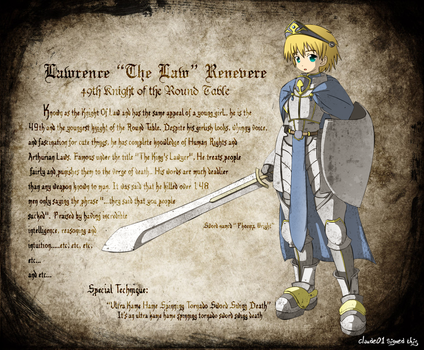 49th Knight of the Round Table by Claude01