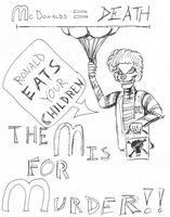 Ronald Eats Your Children by marr0w