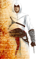 Altair Bookmark by NoRefunds