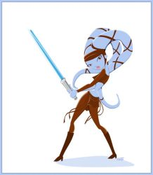 Aayla Secura Retro Style by GoblinQueeen