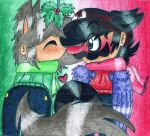 Happy Holidays From Mario and Damien~ by Mario-Wolfe