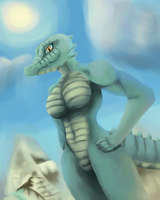 Desert Gator by Lennoxicon