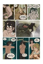 Mias and Elle chapter 5 page 8 by StressedJenny