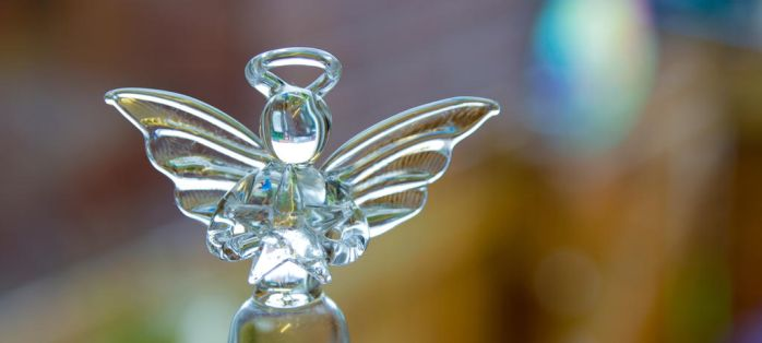 Wee Glass Angel by BusterBrownBB