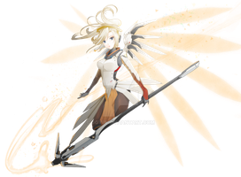 OW]mercy_default skin by ggyul