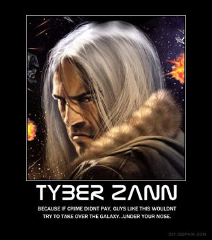 Tyber Zann poster by shadownickmcnick