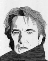 Alan Rickman by suninthedark