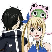 Rogue, Lucy and Frosch~ by yaKetchup