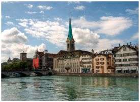 Zurich - Cityscape by selley