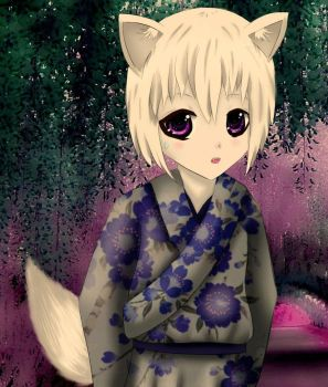 Little Tomoe by MidoriiChii