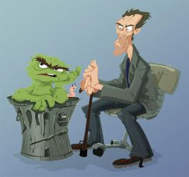 Who's The Bigger Grouch? by AgentBiLL