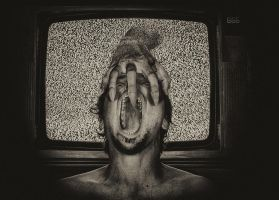 Horror story - selfportrait by hrcM
