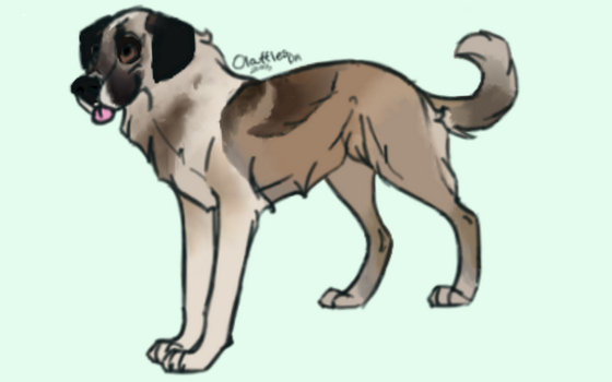Canine Adopt Sold! by Paradise--Adopts