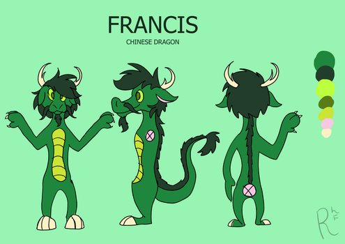 FRANCIS 2018 | REFERENCE SHEET by Ravenhoof